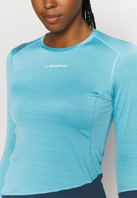 La Sportiva - DASH LONG SLEEVE - Sports shirt - pacific blue/opal - 4