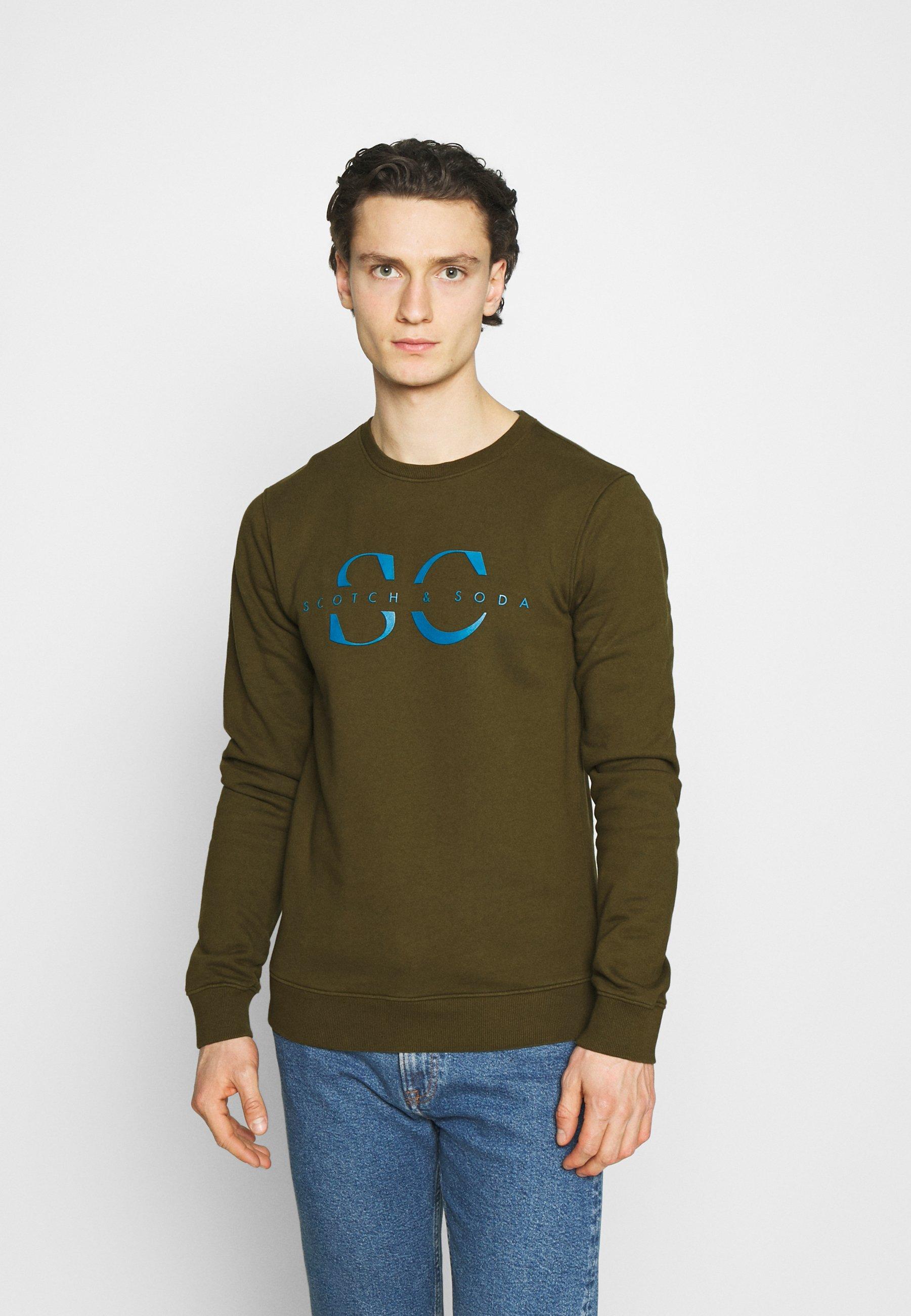 Men CREW NECK WITH GRAPHIC - Sweatshirt