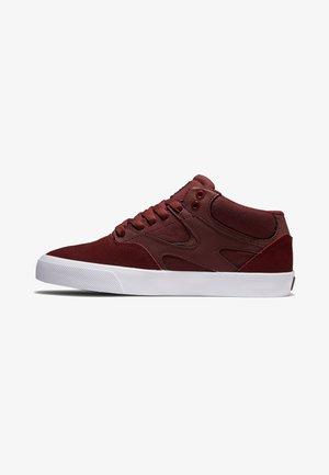 KALIS VULC MID - Sneakers laag - burgundy