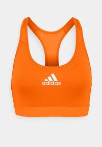 ASK BRA - Medium support sports bra - app/signal/orange