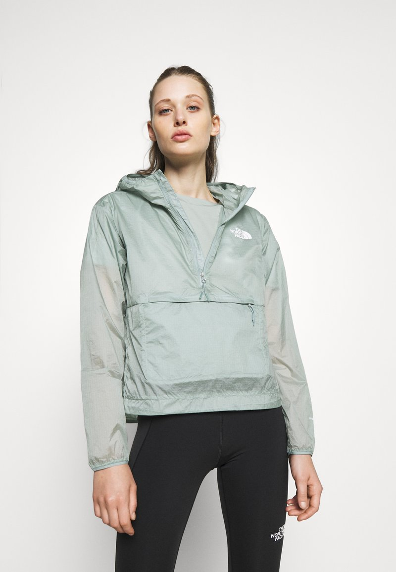 The North Face - WINDY PEAK ANORAK - Outdoor jacket - silver blue