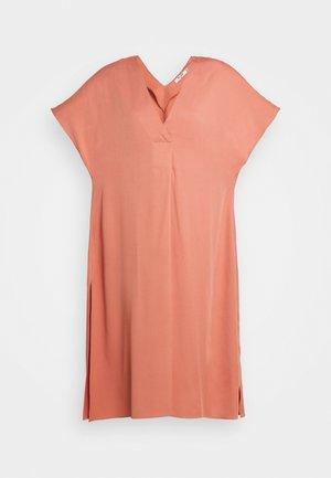 CAFTAN MIDI DRESS - Day dress - rust