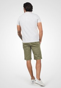 Solid - RON - Denim shorts - dusty olive - 2