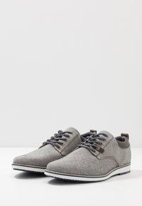 Pier One - Zapatos con cordones - grey - 2