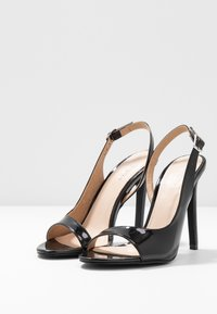 BEBO - BRISA - High heeled sandals - black - 4