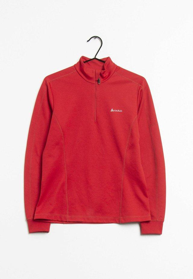 Fleece trui - red