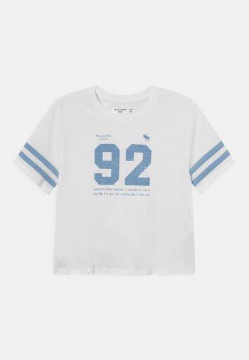 SPORTY TEE - T-shirts print - white