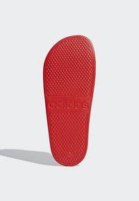 adidas Performance - ADILETTE AQUA SLIDES - Badslippers - red - 6