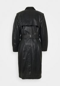 Trussardi - Leather jacket - black - 1