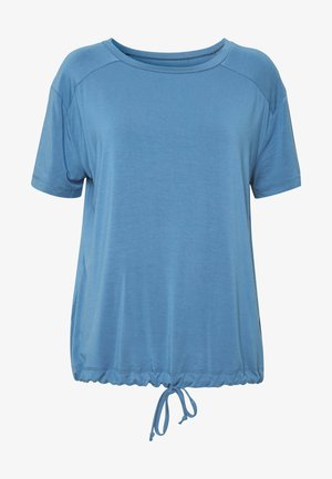 DRAWSTRING WIDE  - Top - horizon blue
