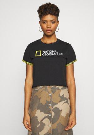 NAT GEO ROLLOUT - Print T-shirt - black