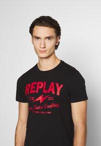 Replay - TEE - Print T-shirt - black - 3