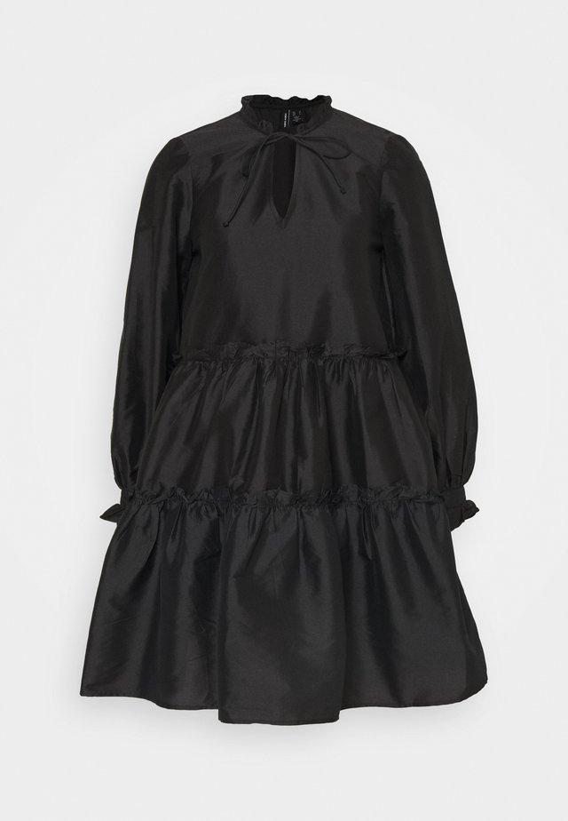 VMKIRA SHORT DRESS - Day dress - black
