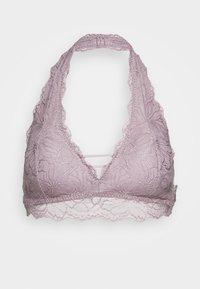 Gilly Hicks - FLORAL HALTER - Triangle bra - pink - 4