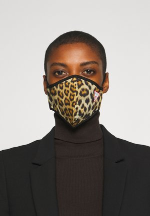 SINGLE FACEMASK UNISEX - Community mask - brown