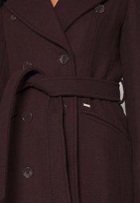 Morgan - Płaszcz wełniany /Płaszcz klasyczny - bordeaux - 7