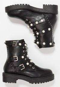 Bullboxer - Cowboy/biker ankle boot - black - 5