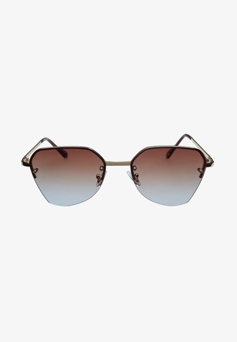 Icon Eyewear - B-FLY - Sunglasses - pale gold / brown