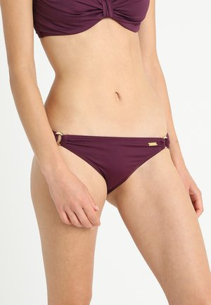 PANTS RING LAS SIMPLE - Bikini bottoms - bordeaux