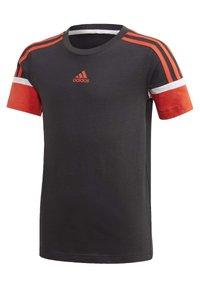 adidas Performance - BOLD T-SHIRT - Camiseta estampada - black - 0