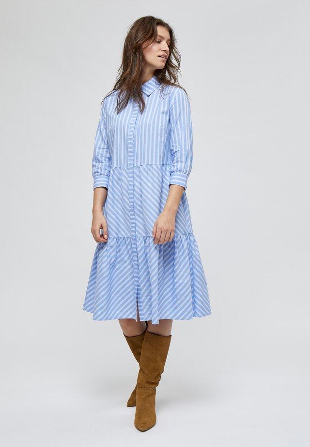 DALINA  - Blousejurk - powder blue stripe