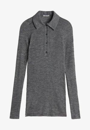 Polo shirt - puzzle grigio