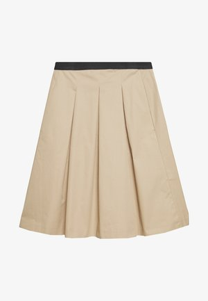 REJANA - A-line skirt - soft ginger