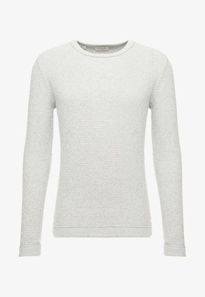 SLHVICTOR CREW NECK - Jumper - light grey melange