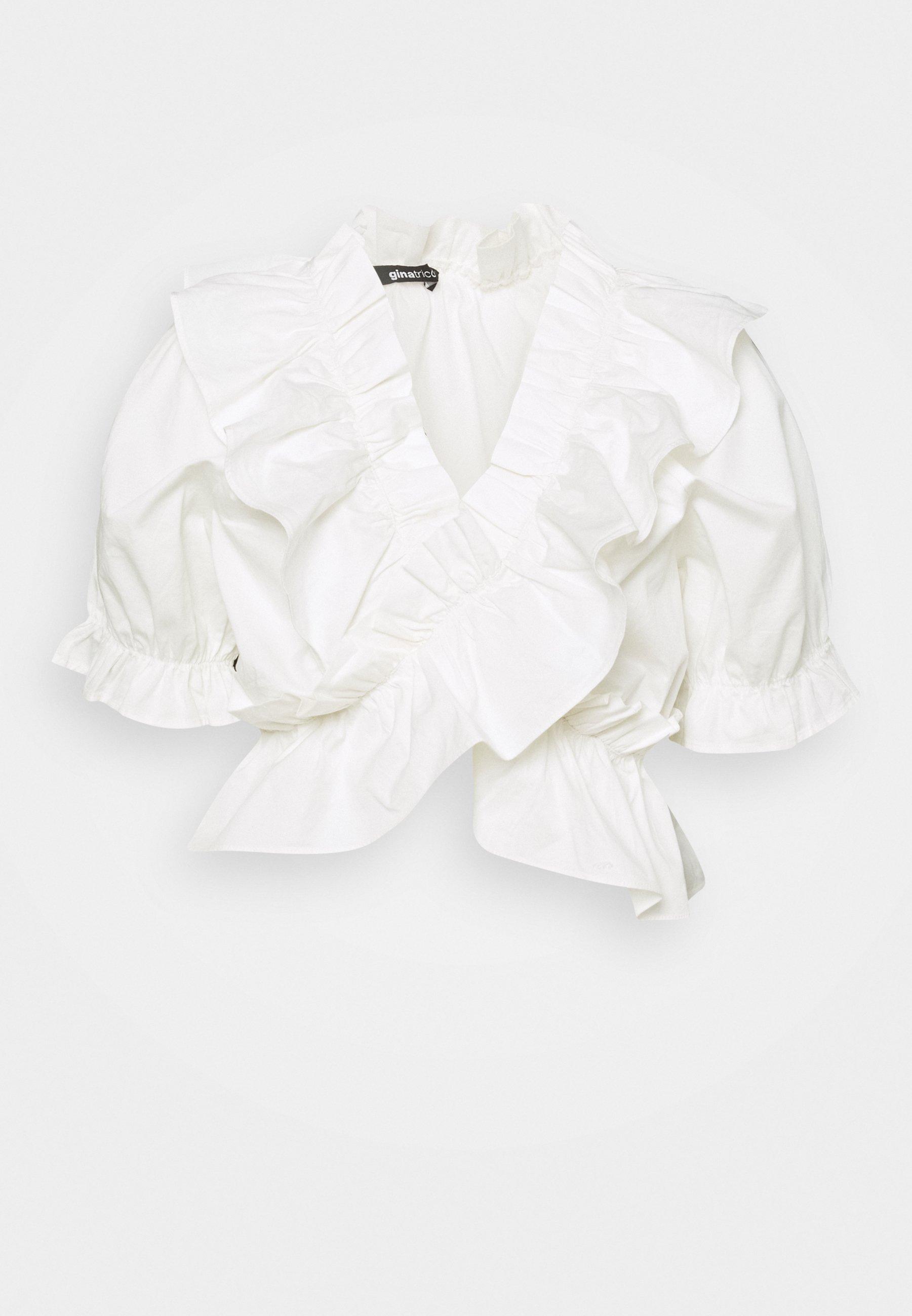 Femme NAIMA FRILL  - T-shirt imprimé