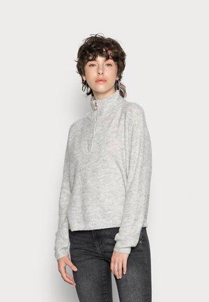 VMPLAZA LS  - Jersey de punto - light grey melange