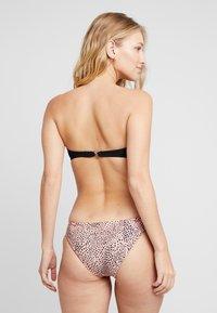 Seafolly - SAFARI SPOT CHEEKY HIPSTER - Bikini bottoms - rose sands - 2