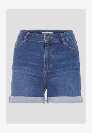Denim shorts - denim stone