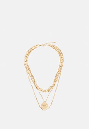 PCBLYTHE COMBI NECKLACE - Smykke - gold-coloured
