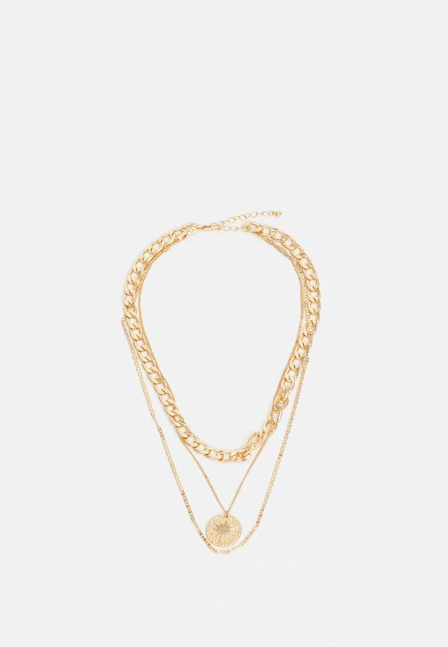 PCBLYTHE COMBI NECKLACE - Collana - gold-coloured