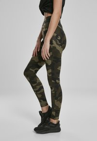Urban Classics - Leggings - Trousers - wood camo - 2