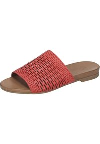 Piazza - Slippers - rot - 1