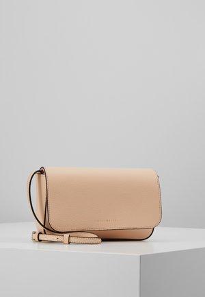 ANNETTA MINI BAG - Across body bag - nude