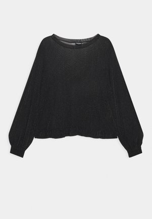 PCZUA  TOP CURVE - Long sleeved top - black