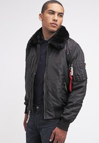 Alpha Industries - INJECTOR III - Bomber Jacket - black - 3