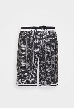 DNA SHORT CITY EXPLORATION SERIES - Short de sport - black/white