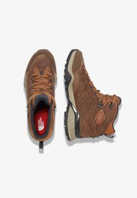 The North Face - M HEDGEHOG HIKE II MID WP - Lace-up ankle boots - timber tan/india ink