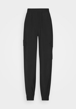 ONLMISTY LONG PANT - Cargo trousers - black