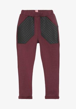 JACKSON - Teplákové kalhoty - bordeaux