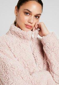 New Look - ZIP THROUGH - Light jacket - pink - 3