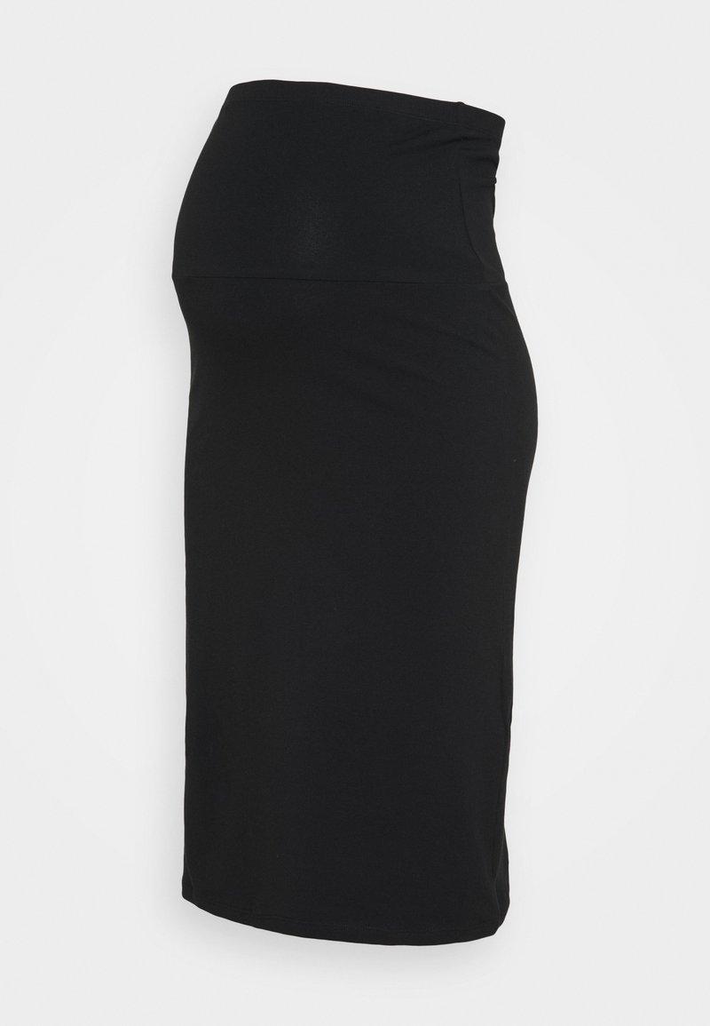 ONLY - OLMLOVELY KNEE SKIRT - Pencil skirt - black