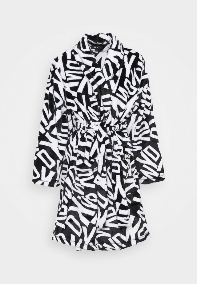 SOMETHING EXTRA SLEEP ROBE - Szlafrok - black toss