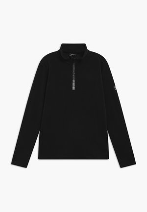 TENNO BOYS - Fleece jumper - black