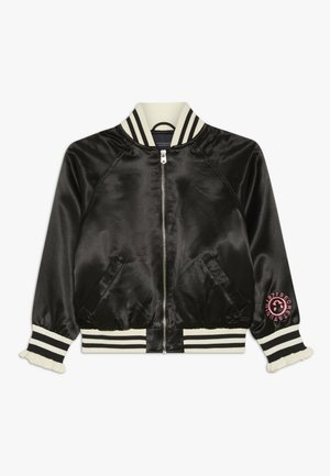 WITH SPECIAL ARTWORK - Bomber Jacket - black