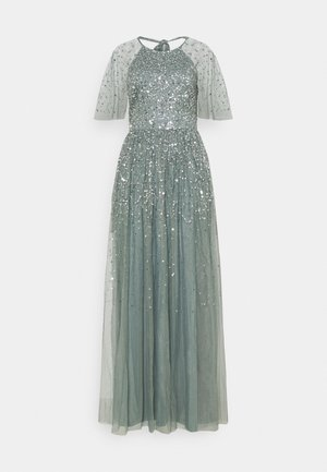 Robe de cocktail - misty green