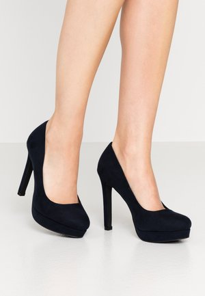 Zapatos altos - dark blue